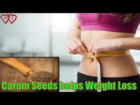 How carom seeds (ajwain) helps in weight loss