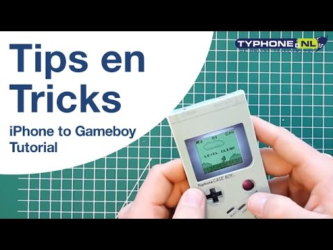 How to turn an iPhone 4 into a retro Game Boy