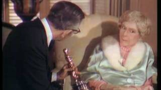 Mary Pickford receiving an Honorary Oscar®