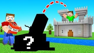 I Built A SECRET Weapon In JELLY'S MINECRAFT World! (Troll Wars)