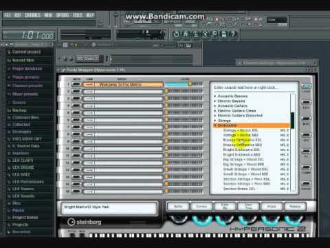 FL studio Simple Ethiopian Reggae Beat making