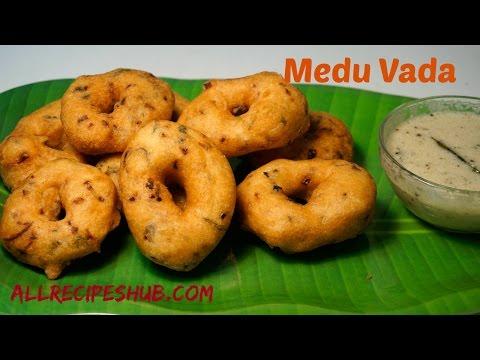 medu vada recipe   ulundu vadai   How to make soft and Crispy medu vada