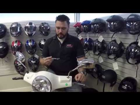 How to install a Scooter windshield