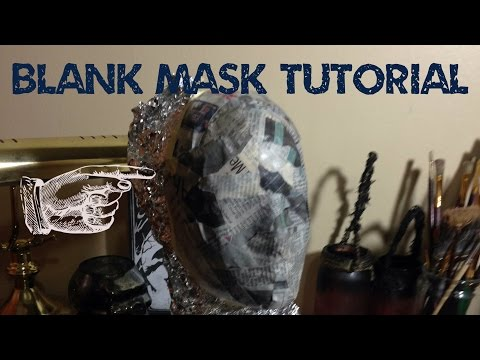 www.monstertutorials.com - How to make a blank base mask