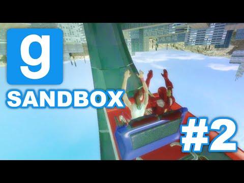 Reverse Rollercoaster | GMod Sandbox #2