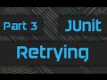 JUnit Tutorial with IntelliJ  - How to Retry JUnit Tests - Master JUnit Framework -  Part 3