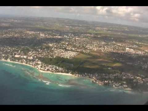 Barbados Vacation 2010 - Our Westjet Flight To Barbados
