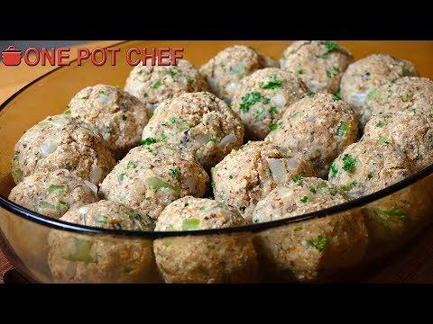 Holiday Stuffing Balls | One Pot Chef