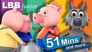 Three Little Pigs | And Lots More Original Songs | From LBB Junior!