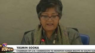 U N  SEEKS TO STOP SOUTH SUDAN ATROCITIES