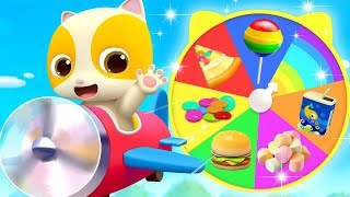 Yummy Food on Colorful Wheel | Colors Song, Learn Colors | Nursery Rhymes | Kids Songs | BabyBus
