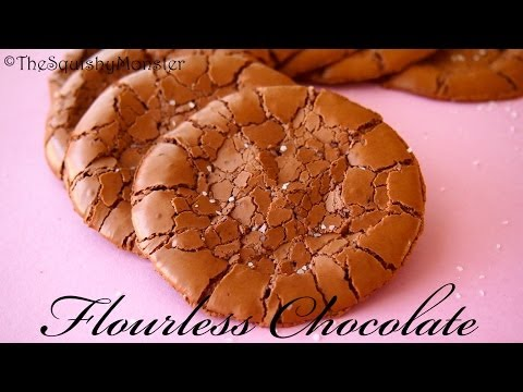 Flourless Chocolate Cookies Recipe