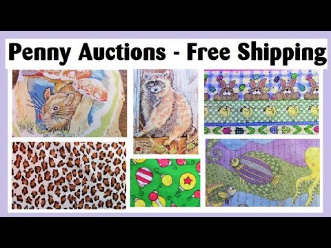 PENNY Auctions with FREE Shipping on eBay - Manic Monday