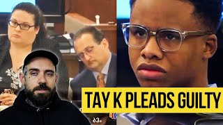 Tay K pleads Guilty to Aggravated Robbery