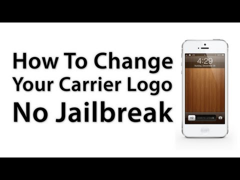 CarrierEditor: How To Change Your iPhone / iPad Carrier Logo - No Jailbreak