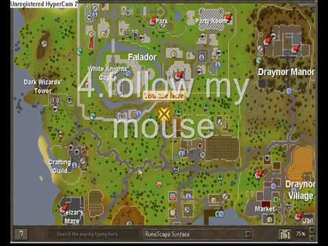 Runescape how to change to male or female