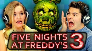 Download FIVE NIGHTS AT FREDDY'S 3 (Teens React: Gaming) Video