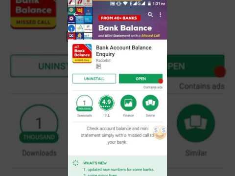 How to check bank balance using your mobile for all banks