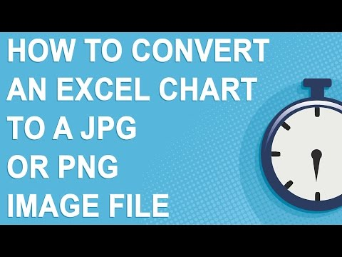 How to convert an Excel chart to a jpg or png image file