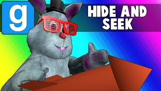 Gmod Hide and Seek Funny Moments - New Years Rocket Rides! (Garry