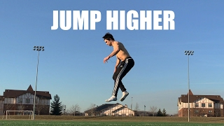 JUMP HIGHER ROUTINE | Bodyweight Only
