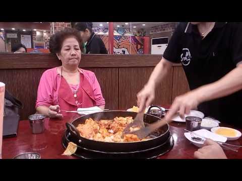 Day1-유가네닭갈비 Yoogane Dalk Galbi @ Seoul, South Korea ...ยอมผัดแล้ว+ข้าว
