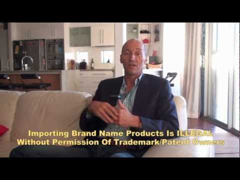Import Export From China - Importing Branded Items?