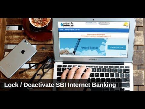 Lock/Deactivate SBI Internet Banking