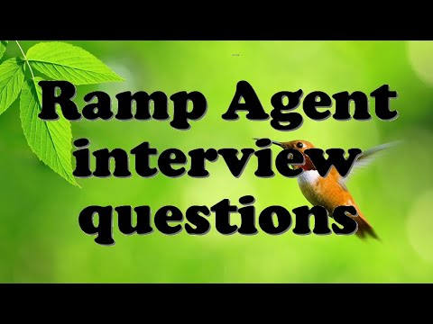 Ramp Agent interview questions