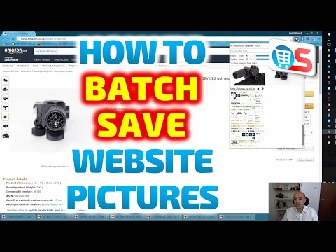 How to Batch Save Pictures from Amazon or any other website