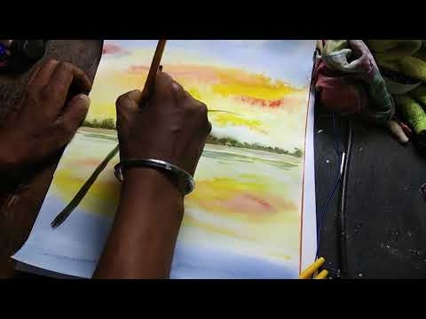 subscribe our another channel for entertainment #learn water color painting