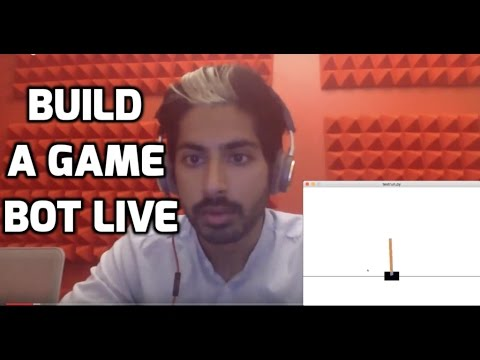 Build a Game Bot (LIVE)