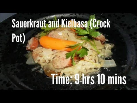 Sauerkraut and Kielbasa (Crock Pot) Recipe