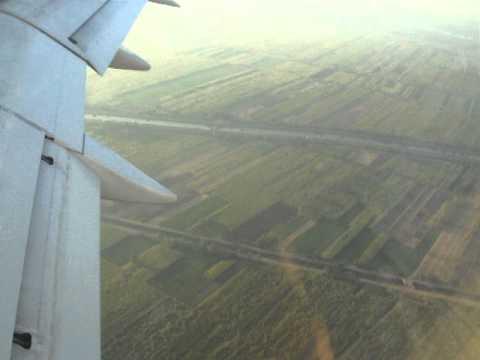Landing at Luxor, Egypt