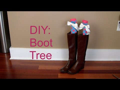 DIY: Boot Trees