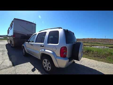 Motorhome tow car and Knights Ferry Ca