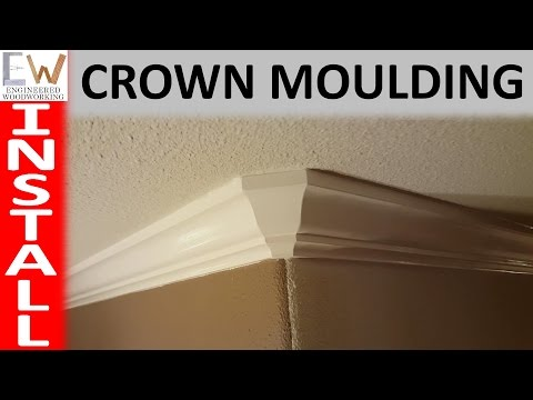Installing Crown Moulding
