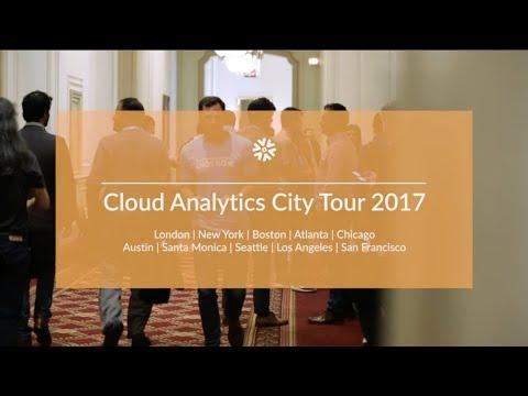 Cloud Analytics City Tour 2017