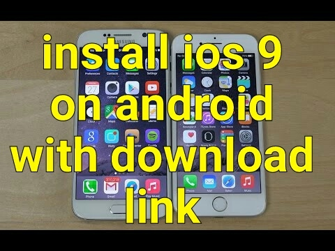How to install iOS 9 on android(custom rom method) with