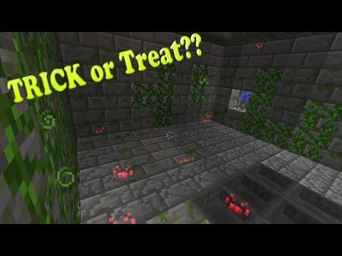 Minecraft: Best Trick For Halloween!