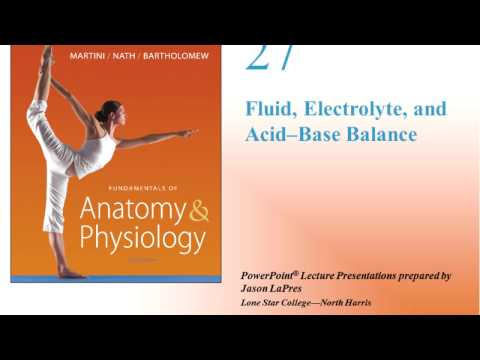 Fluid, water and Electrolyte Balance part 1 of 3