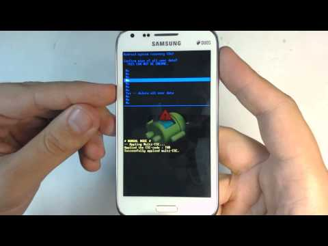 Samsung Galaxy Core Duos I8262 hard reset