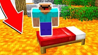 THIS LAVA IS 1000 DEGREES! DO NOT TOUCH! (Minecraft Bed Wars)