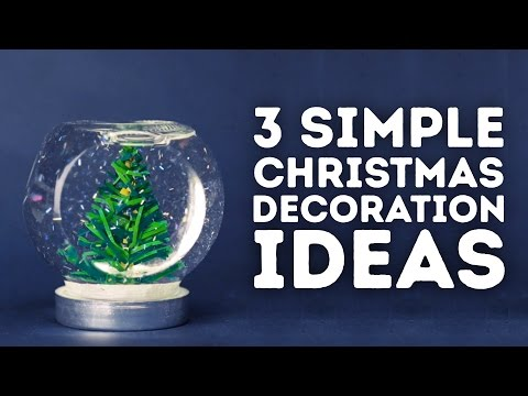 3 Christmas holiday decorations you can make at home l 5-MINUTE CRAFTS