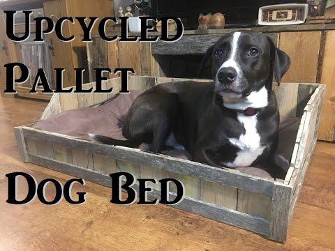 Diy Upcycled Pallet Dog Bed