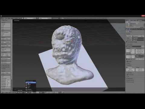 Cyclops Blender Dynamic Topology Timelapse Sculpt