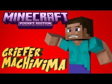 Minecraft PE Realms Griefer Machinima ! [0.7.5 Realm]