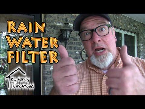 Rain Water Filter