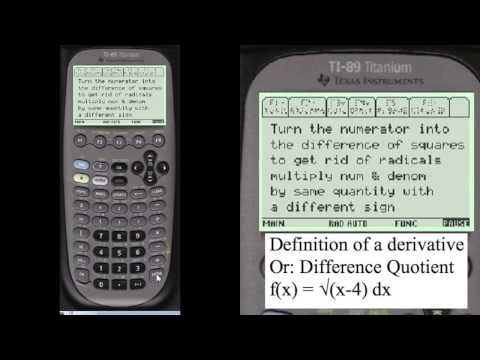 Calculus Derivative Difference Quotient | Every Step Calculus