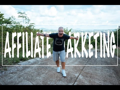 AFFILIATE MARKETING FOR BEGINNERS (How To Travel The World & Get PAID!!)